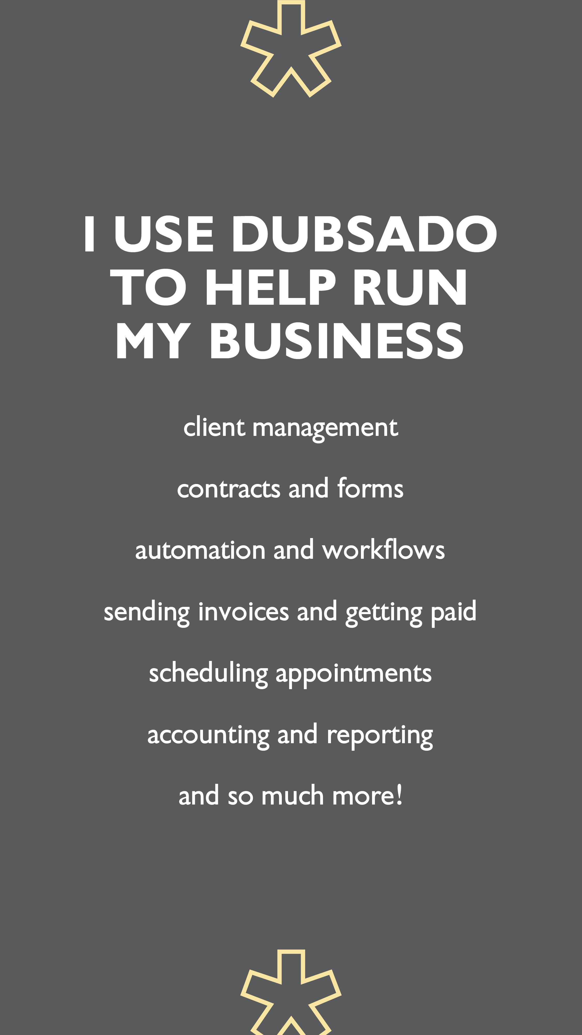 Dubsado a Business Management System