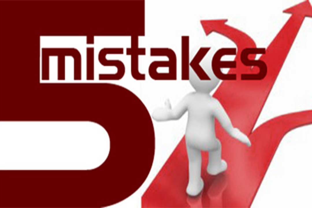 5 Mistakes I've Made that Cost Me Business.