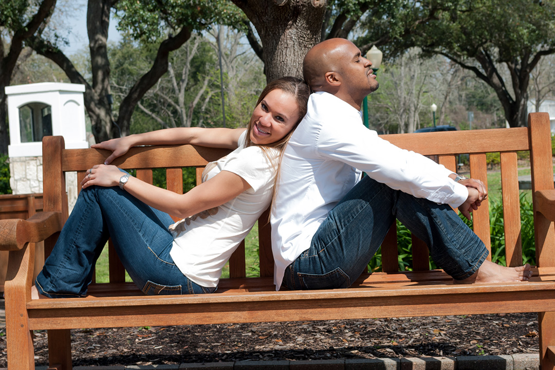 Engagement Session at PhotoVid Gallery